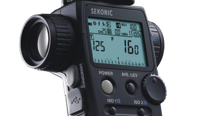 Sekonic L 758DR U201cDigital Masteru201d Light Meter