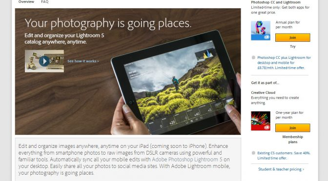 Lightroom Mobile – What's the big deal?