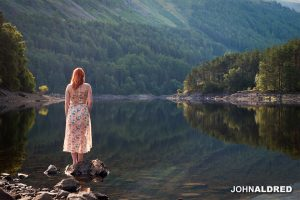 Vicky at Thirlmere Reservoir