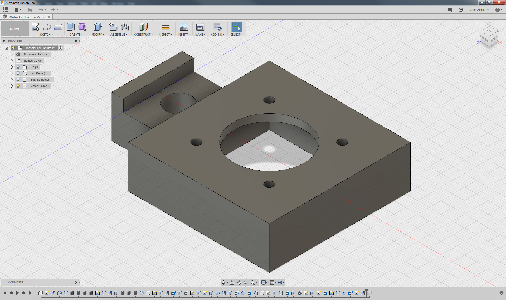 Motorising my camera slider with 3D printing - John Aldred