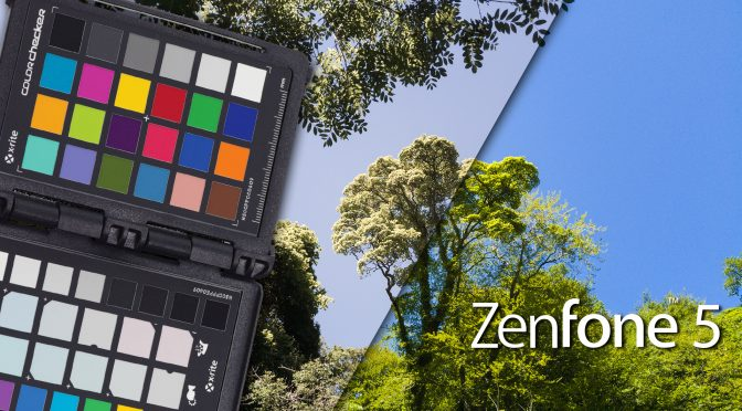 Colour profiling my ZenFone 5 with the ColorChecker